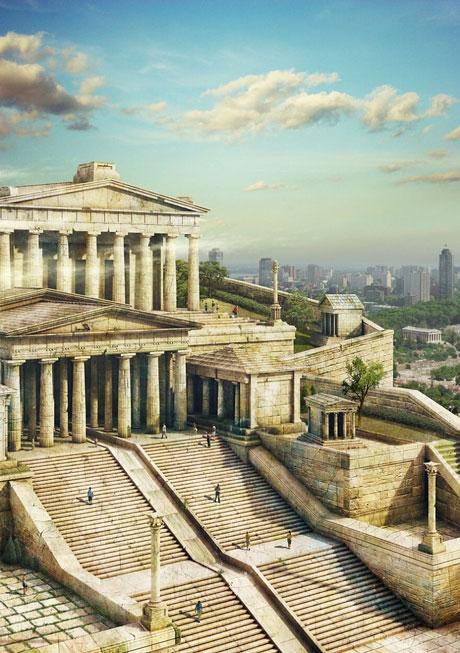 10 kỳ quan cổ đại sẽ ra sao nếu không biến mất