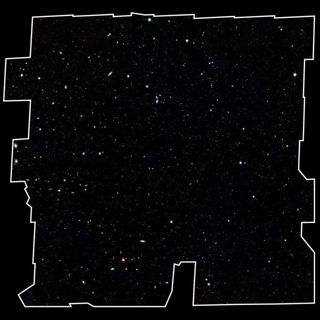 13,3 tỷ năm lịch sử vũ trụ thu bé lại trong bức ảnh này