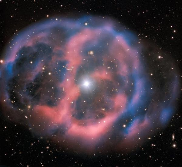 'Hơi thở' cuối cùng của một ngôi sao sắp chết trông như thế nào?