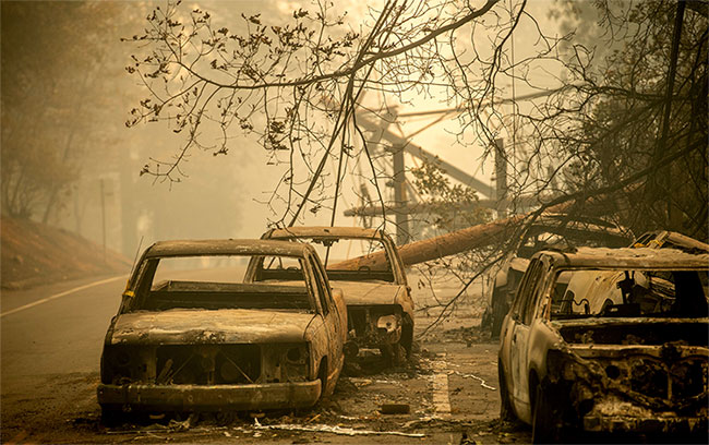 44 người chết, cháy rừng ở California chưa bao giờ kinh hoàng đến thế
