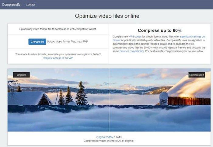 6 công cụ giảm dung lượng video online và offline