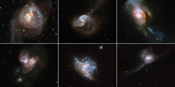 6 thiên hà đang xảy ra điều được dự báo làm văng Trái đất