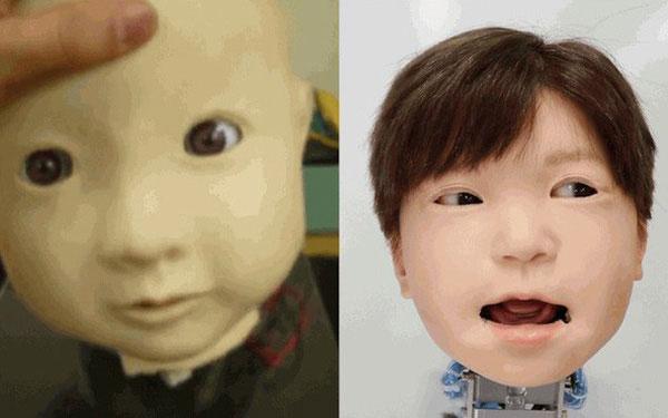 7 năm sau khiđắp da đắp thịt cho con robot đầu người, độ đáng sợ của nó vẫn không giảm