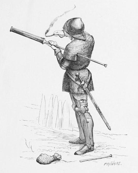 Ai đã phát minh ra khẩu súng đầu tiên?