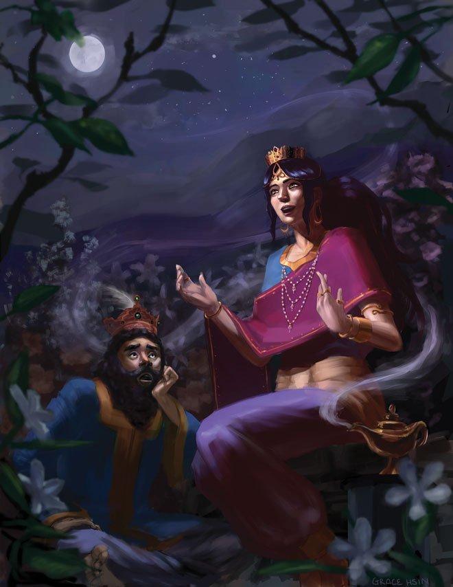 Ai đã tạo ra thế giới kỳ lạ của Nghìn lẻ một đêm?