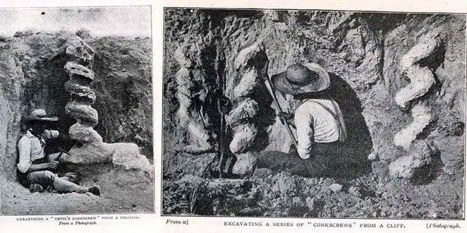 Ai là người đã làm ra cái vặn nút chai của quỷ cao hơn hai mét này từ hàng triệu năm trước?