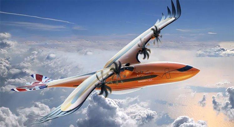 Airbus giới thiệu thiết kế máy bay Chim săn mồi