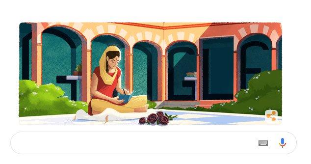 Amrita Pritam là ai mà được Google Doodle kỉ niệm 100 năm ngày sinh?