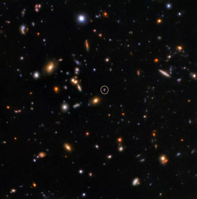 Ảnh chụp vụ chớp gamma cách xa 10 tỷ năm ánh sáng