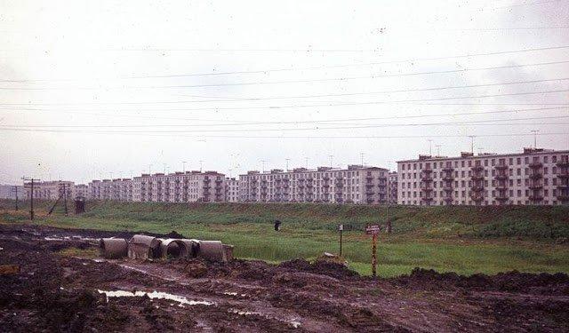 Ảnh màu ấn tượng về đường phố Leningrad những năm 1960