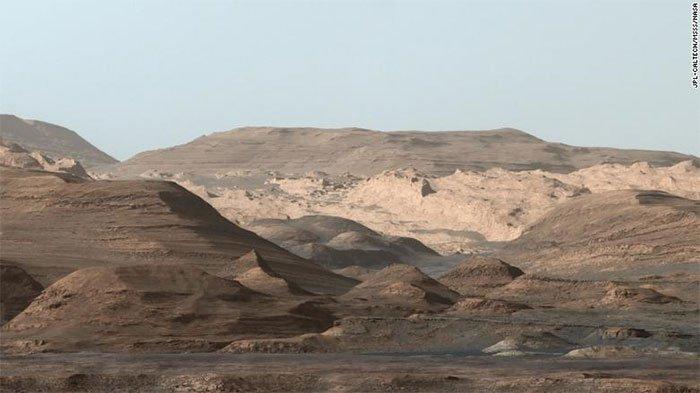 Ảnh mới nhất về cảnh tượng chưa từng thấy ở sao Hỏa