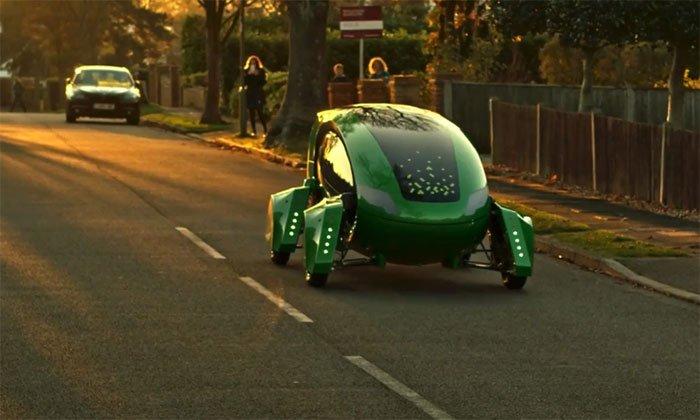 Anh phát triển xe robot giao hàng không cần GPS