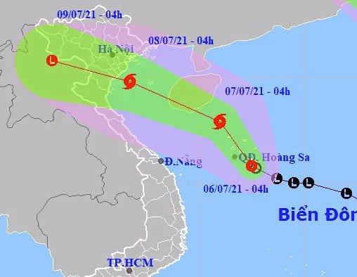 Áp thấp nhiệt đới hình thành trên biển Đông