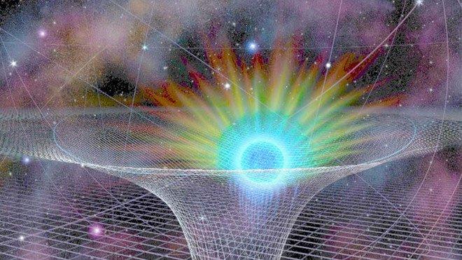 Ba hố đen khổng lồ sắp va chạm trong vũ trụ