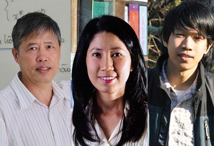 Ba nhà khoa học được chọn trao giải thưởng Tạ Quang Bửu 2020