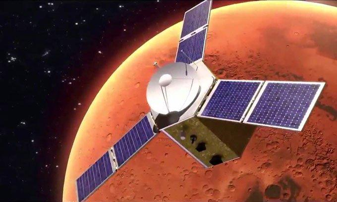 Ba quốc gia cùng dự định phóng tàu tới sao Hỏa tháng 7