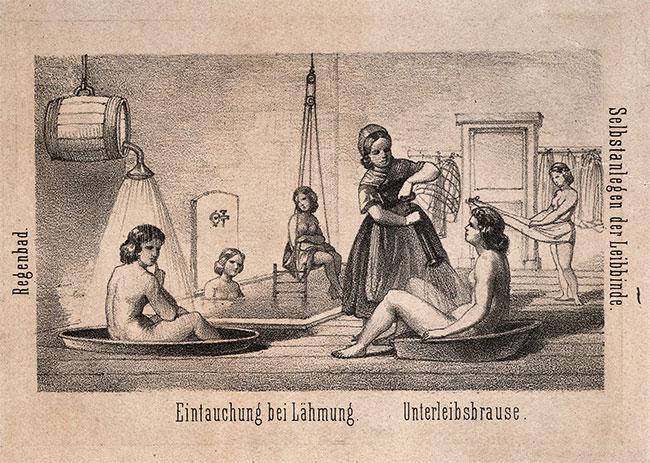 Bạn có biết: Tắm đã từng là một kiểu tra tấn để chữa bệnh tâm thần?