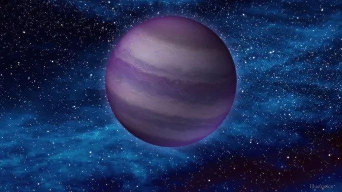 Bán hành tinh sinh ra từ hư không xé toạc không gian gần Trái đất
