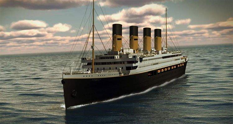 Bản sao tàu Titanic sẽ ra khơi năm 2022
