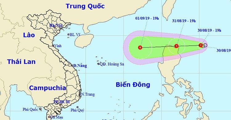 Bão số 4 vừa suy yếu, lại xuất hiện áp thấp nhiệt đới hướng vào biển Đông