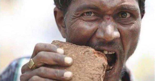 Bất chấp nguy hiểm, loại đá mềm này vẫn được sử dụng như thức ăn