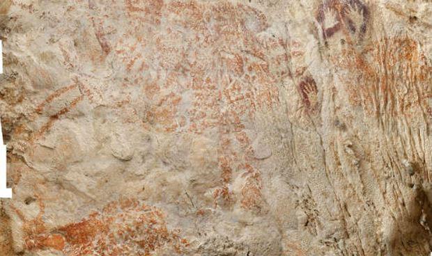 Bất ngờ bức tranh lâu đời nhất thế giới phát hiện tại hang động... Indonesia