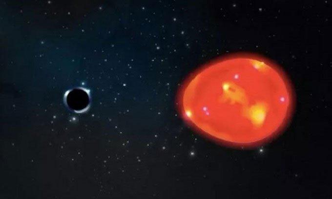 Bất ngờ phát hiện hố đen gần Trái đất nhất
