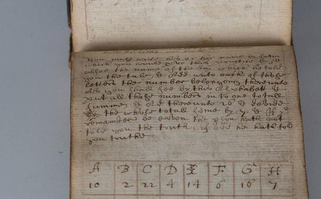 Bất ngờ với những ghi chép của thầy phù thuỷ cách đây 350 năm