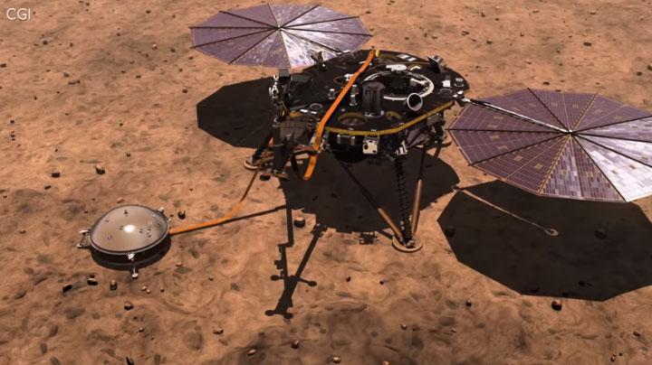 Bảy phút kinh hoàng của tàu NASA sắp đáp xuống sao Hỏa