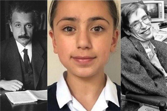 Bé gái có bộ óc thiên tài, IQ vượt cả Albert Einstein và Stephen Hawking