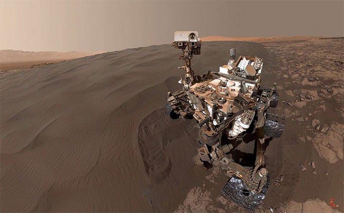 Bề mặt sao Hỏa dựng từ hàng ngàn hình ảnh độ phân giải 4K