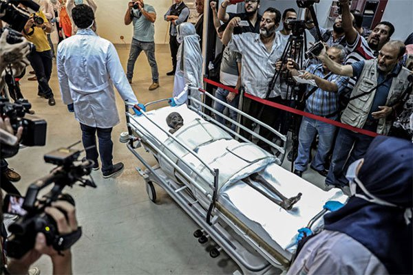 Bên trong quan tài xác ướp 3.400 năm tuổi vừa mở ở Ai Cập