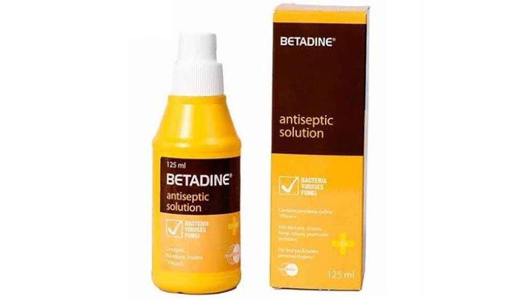 Betadine - Thuốc sát khuẩn nhiều công dụng, hiệu quả cao