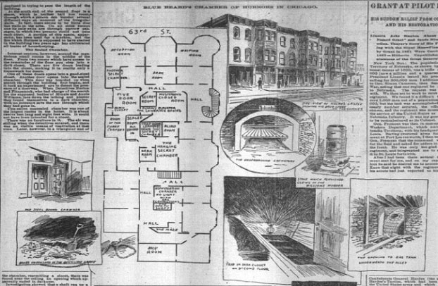 Bí ẩn bên trong mê cung chết chóc đội lốt khách sạn của tên sát nhân hàng loạt