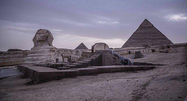 Bí ẩn cổng thiên đường liên quan đến các kim tự tháp Ai Cập cổ đại