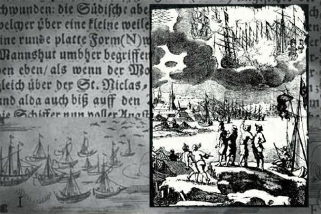 Bí ẩn cuộc chiến UFO khiến hàng ngàn người đổ bệnh năm 1665