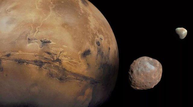 Bí ẩn hiện tượng sao Hỏa lắc lư và chao đảo