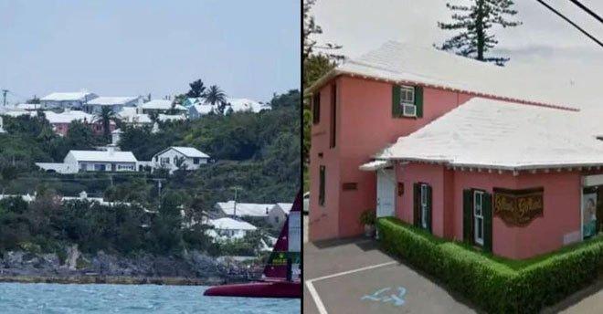 Bí ẩn những mái nhà màu trắng toát trên đảo quỷ Bermuda