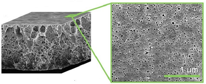 Biến chai nhựa bỏ đi thành màng lọc hóa chất