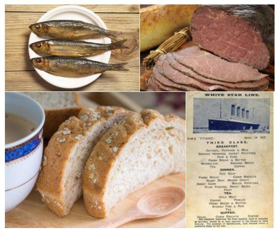 Bữa ăn cuối cùng trên tàu Titanic có gì?