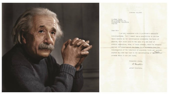 Bức thư cổ cho thấy Einstein đã đoán đúng về siêu giác quan