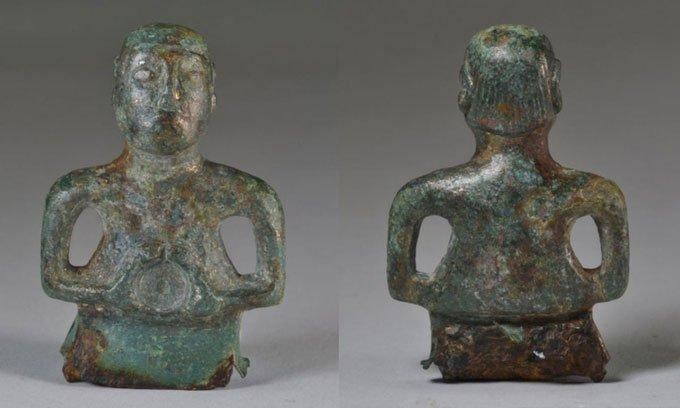 Bức tượng đồng 2.000 năm tuổi có kiểu tóc hiện đại