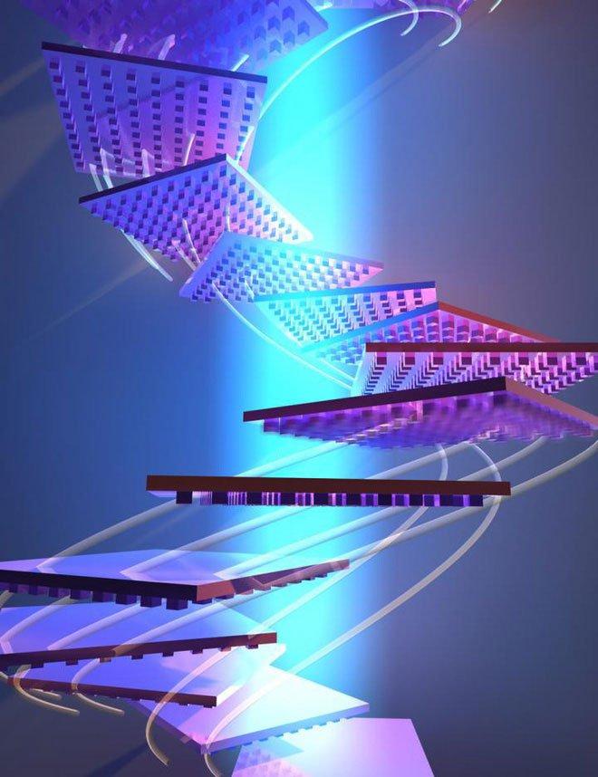 Các nhà khoa học Caltech khẳng định có thể nâng vật thể bằng ánh sáng