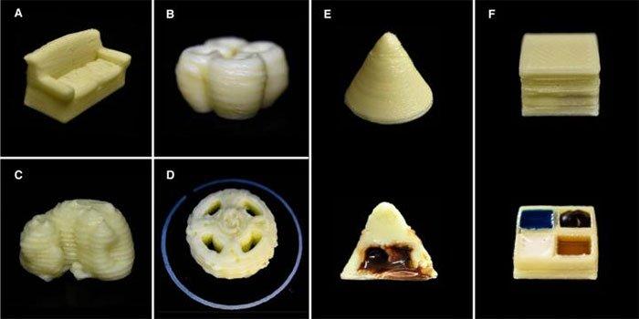Các nhà khoa học đã thành công biến sữa bột thành mực in 3D