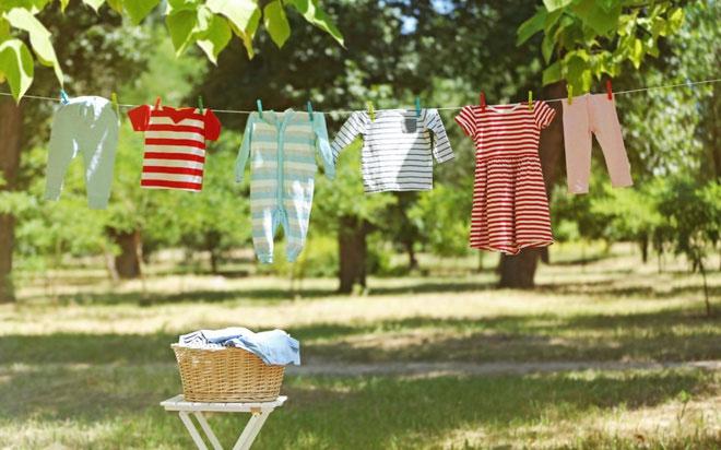 Các tác nhân gây dị ứng da trên quần áo khi giặt giũ không hiệu quả