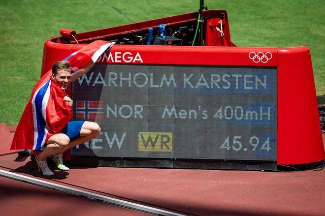 Các vận động viên Olympic thi nhau phá kỷ lục nhờ công nghệ đường chạy trên mây của Nhật Bản
