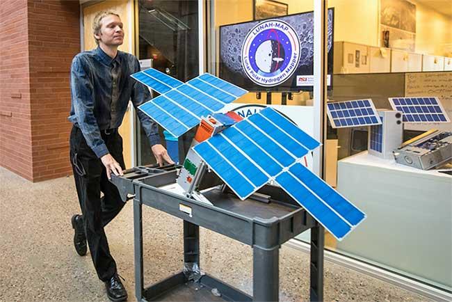 Các vệ tinh mini của NASA sẽ là chìa khoá cho việc tìm thấy nước trên Mặt trăng