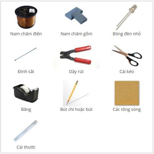 Cách chế tạo máy phát điện mini cực đơn giản