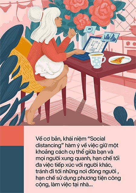 Cách ly xã hội (social distancing) là gì?