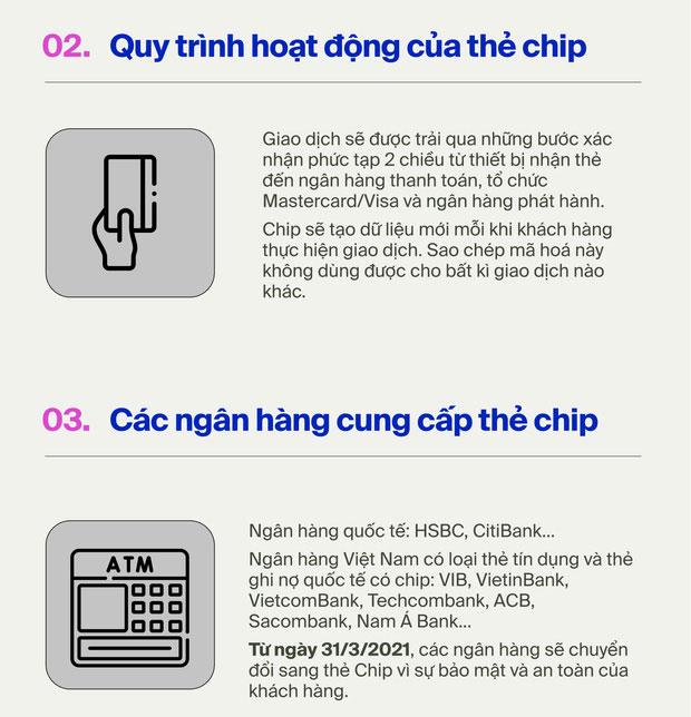 Cách phân biệt thẻ ATM từ và thẻ chip